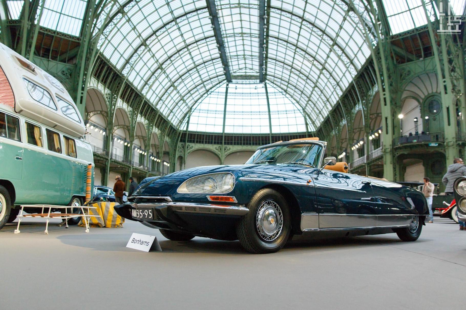Cirtroën DS21 Cabriolet Le Caddy, vendue à 264 500 euros.