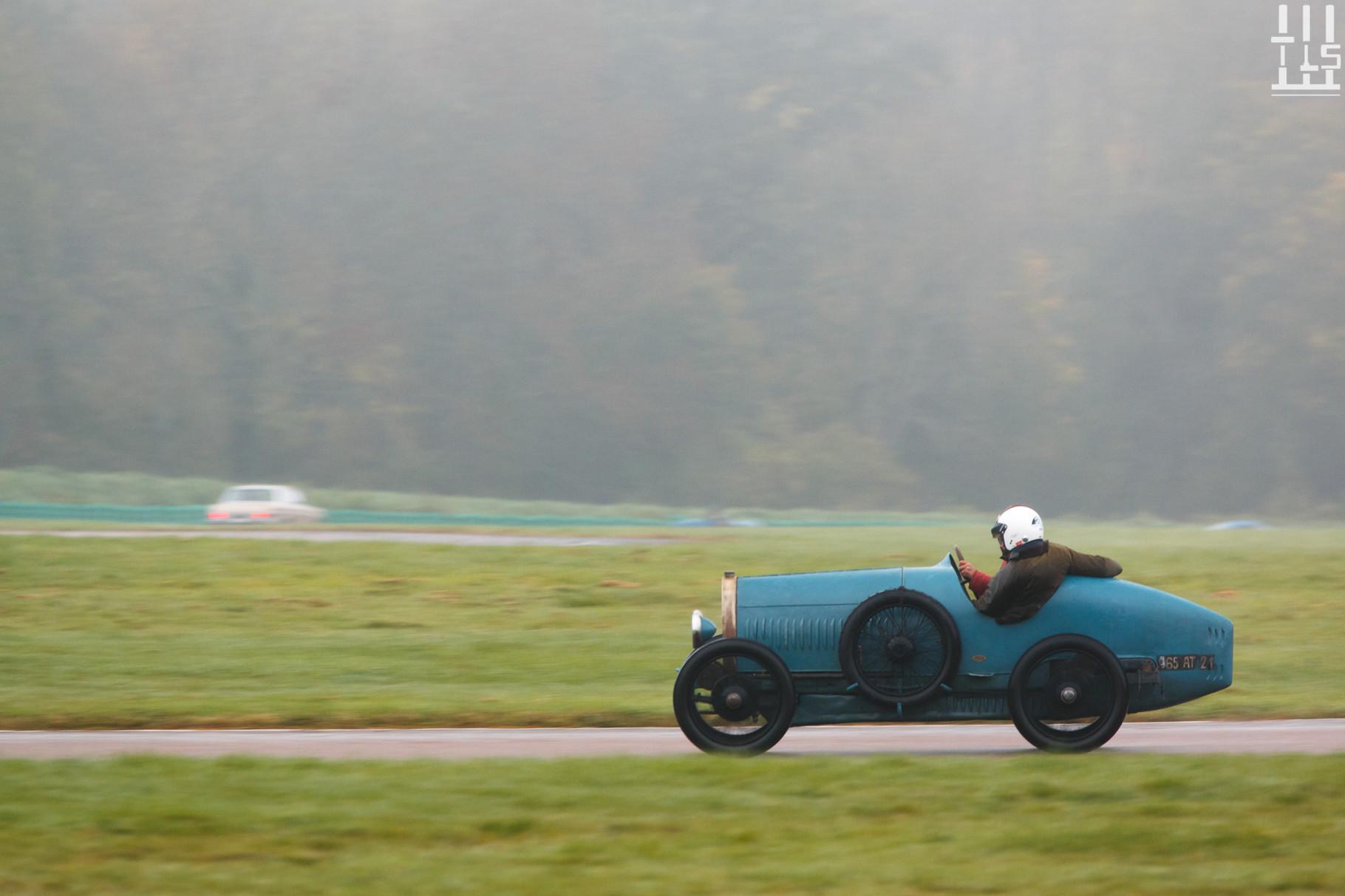 Bugatti Type 13 Brescia - Journées d'Automne 2015, Circuit des Ecuyers.