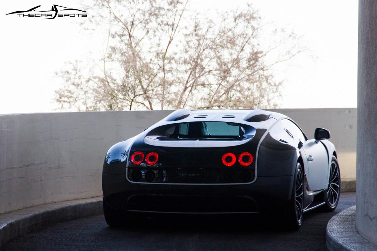 """Bugatti Veyron Mansory """"Vivere""""."""
