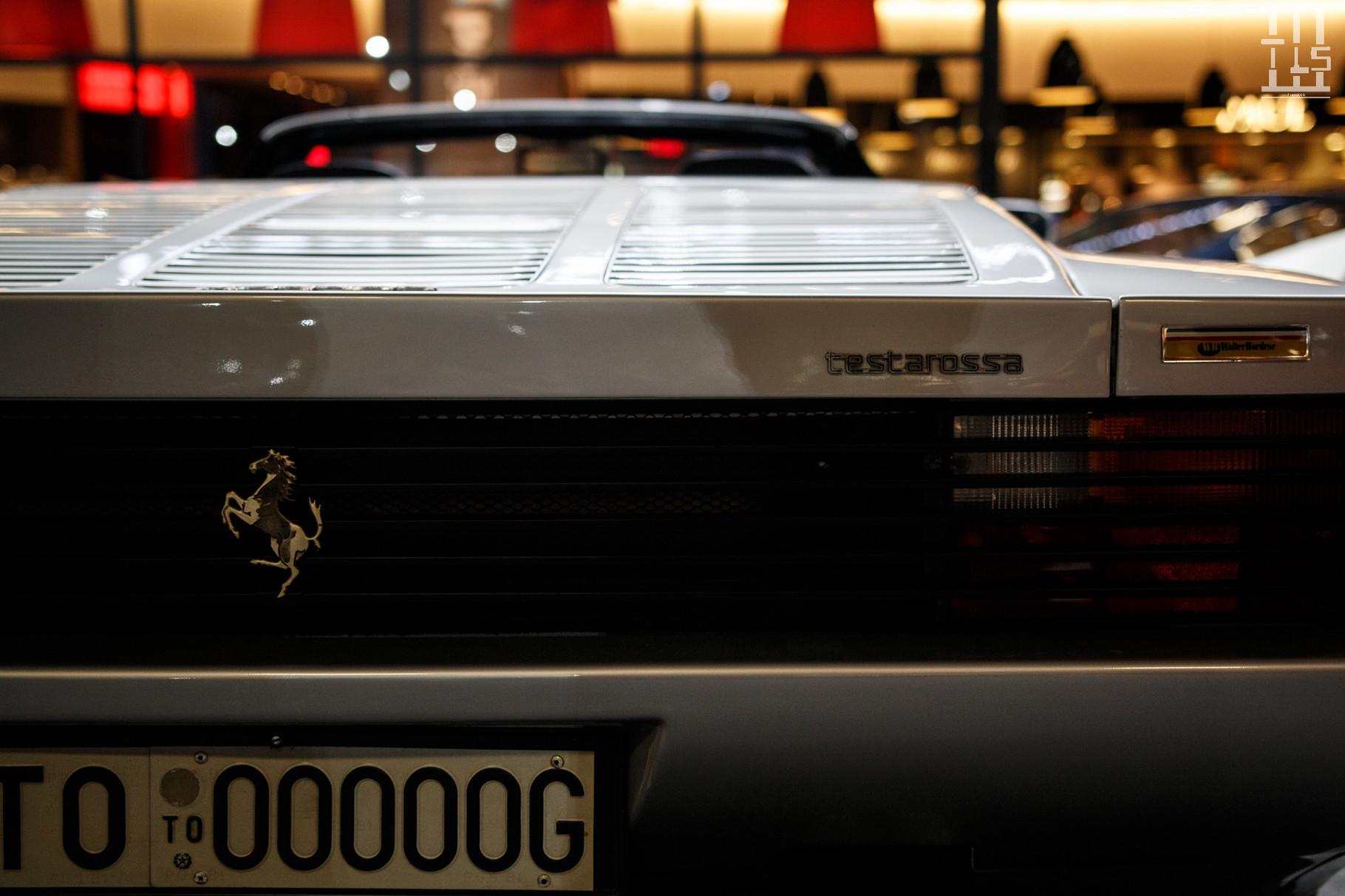 Ferrari Testarossa Spider.