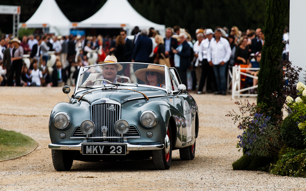 Les marques anglaises disparues (Après-Guerre)  -  Voitures Ouvertes, premier prix : Sunbeam Alpine MK1 1953 (Jonathan Miles)