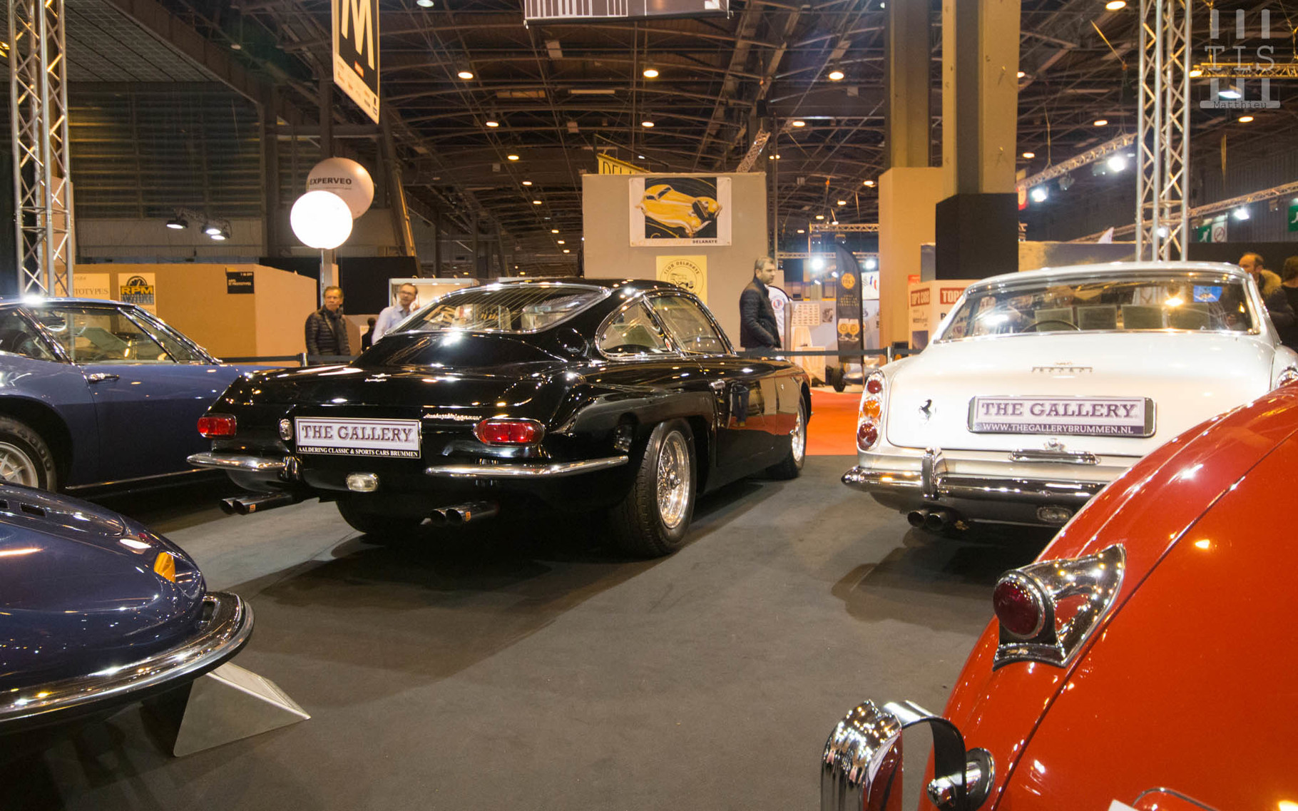 Le stand The Gallery, Rétromobile 2016