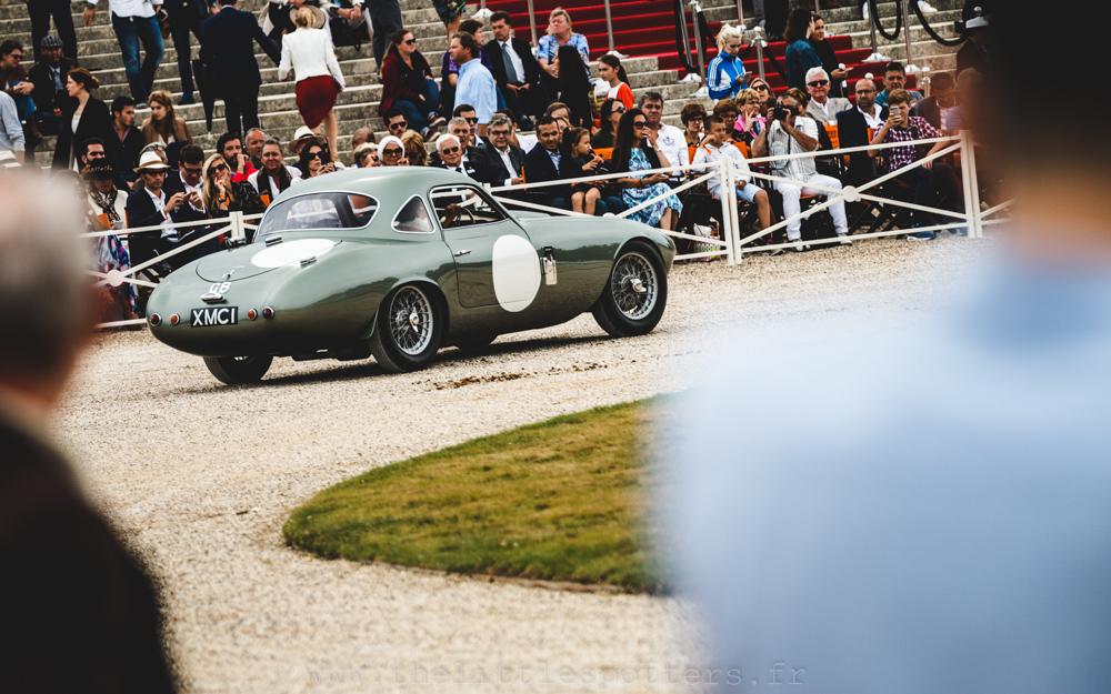 Les marques anglaises disparues (Après-Guerre)  - Voitures Fermées, premier prix : Frazer Nash Le Mans Coupe 1955