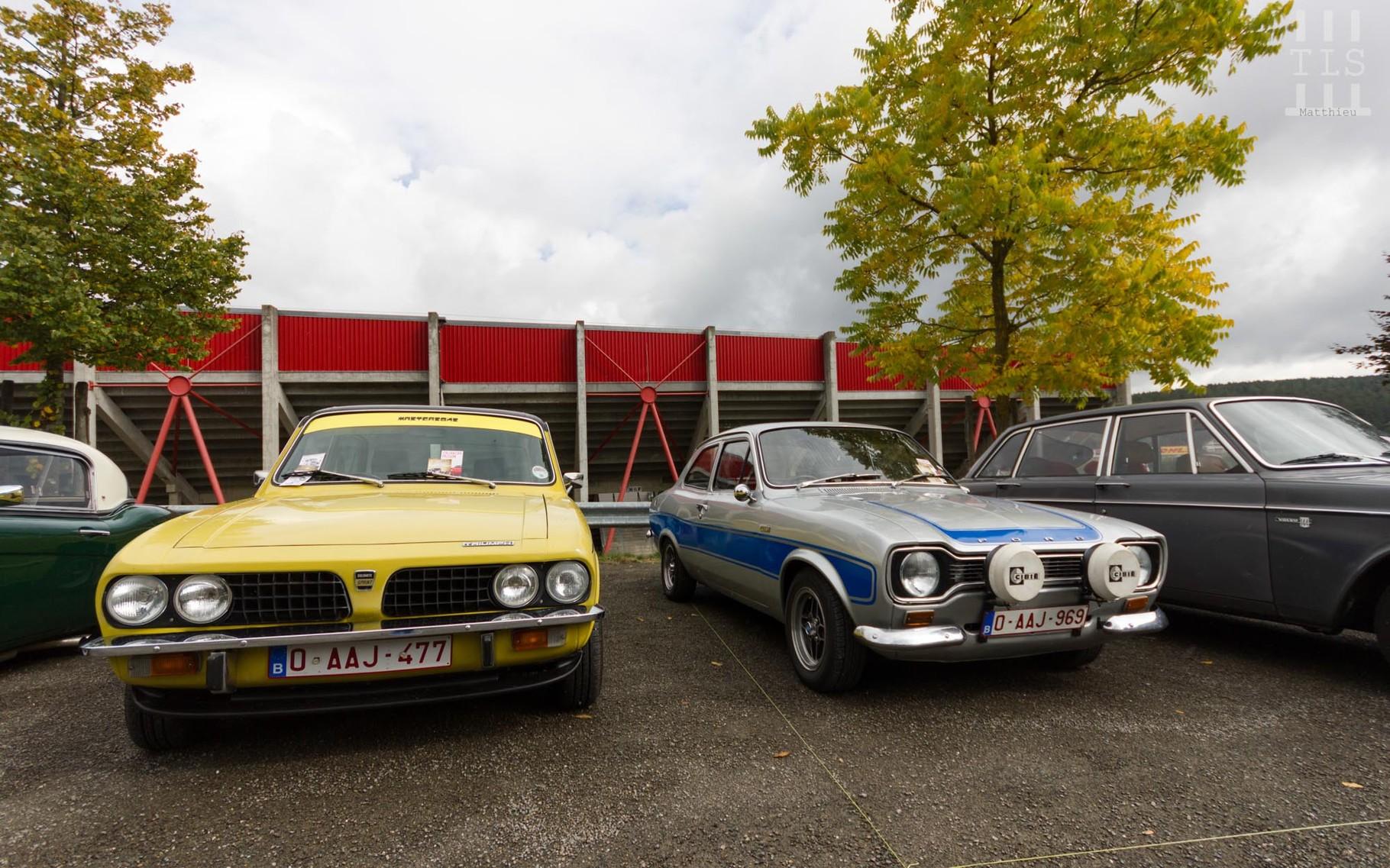Triumph Dolomite Sprint & Ford Escort