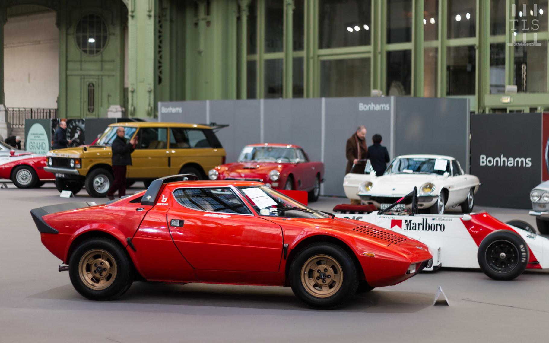 Lancia Stratos, invendue.