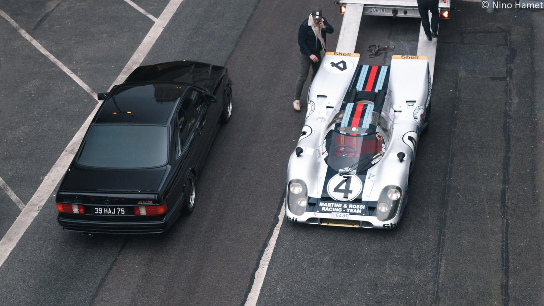 Mercedes 560 SEC AMG & Porsche 917