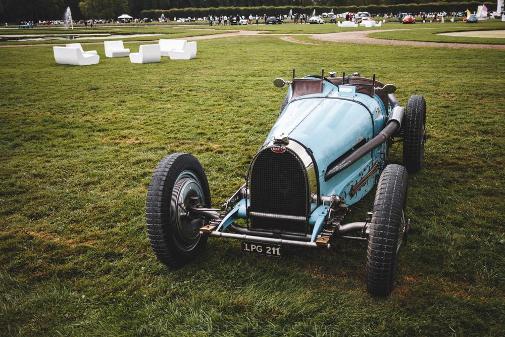 Bugatti, les voitures de Grand Prix, premier prix : Bugatti Type 59 1934 (M. Marc Newson)