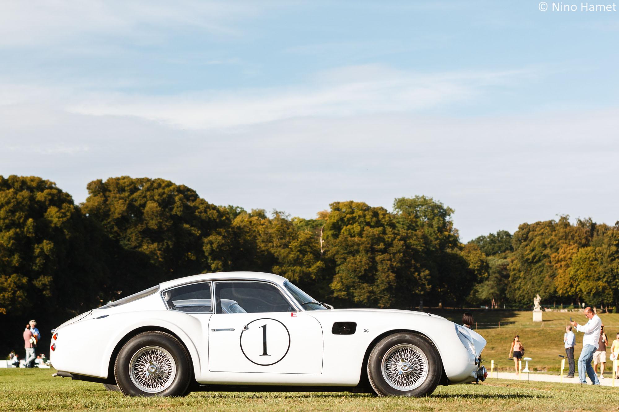 Un grand carrossier italien : Zagato (Après-Guerre), premier prix : Aston Martin DB4 GTZ 1961