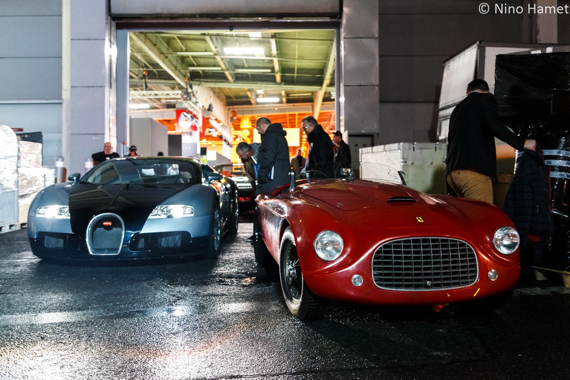Bugatti Veyron & Ferrari 166 MM