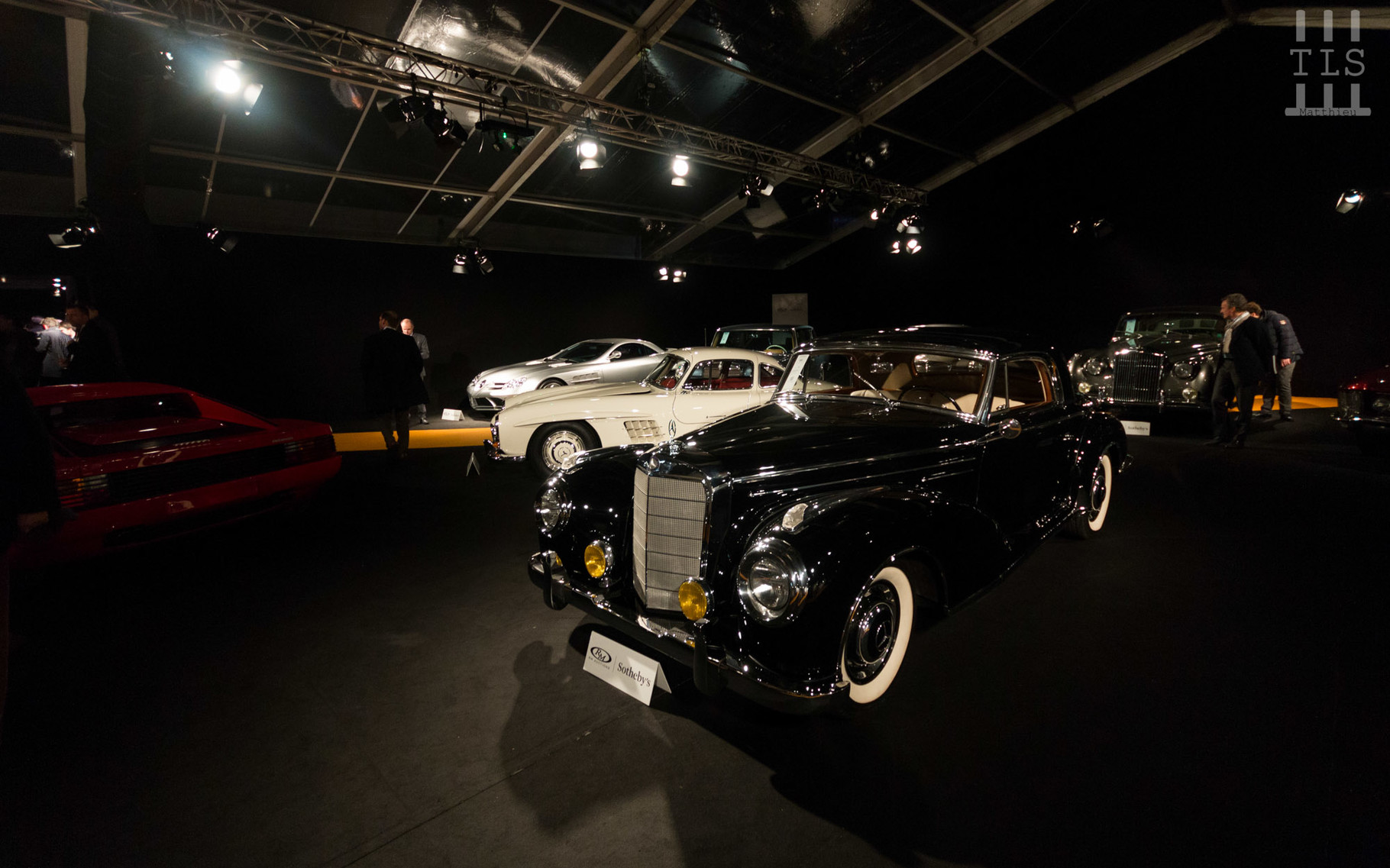 Mercedes-Benz 300 SC, vendue à 498 400 euros.