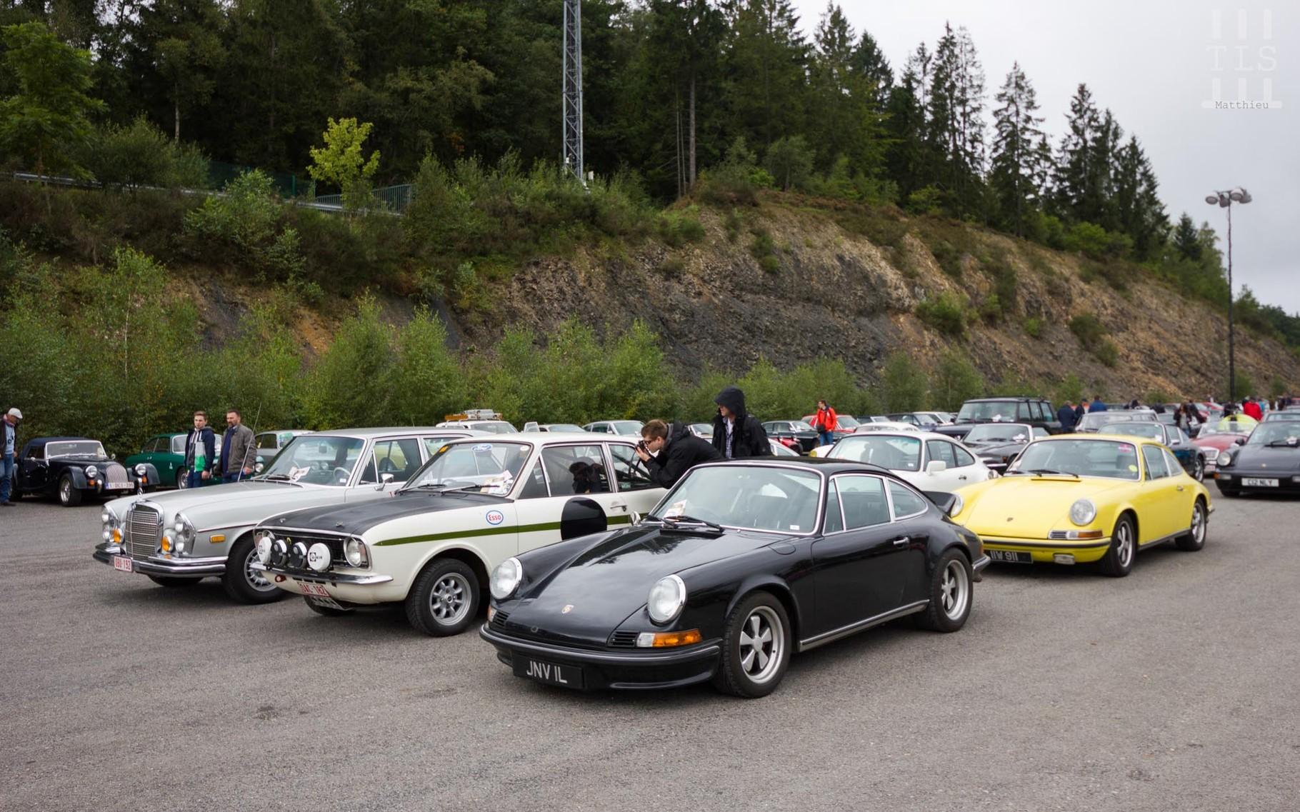 Quelques Porsche...