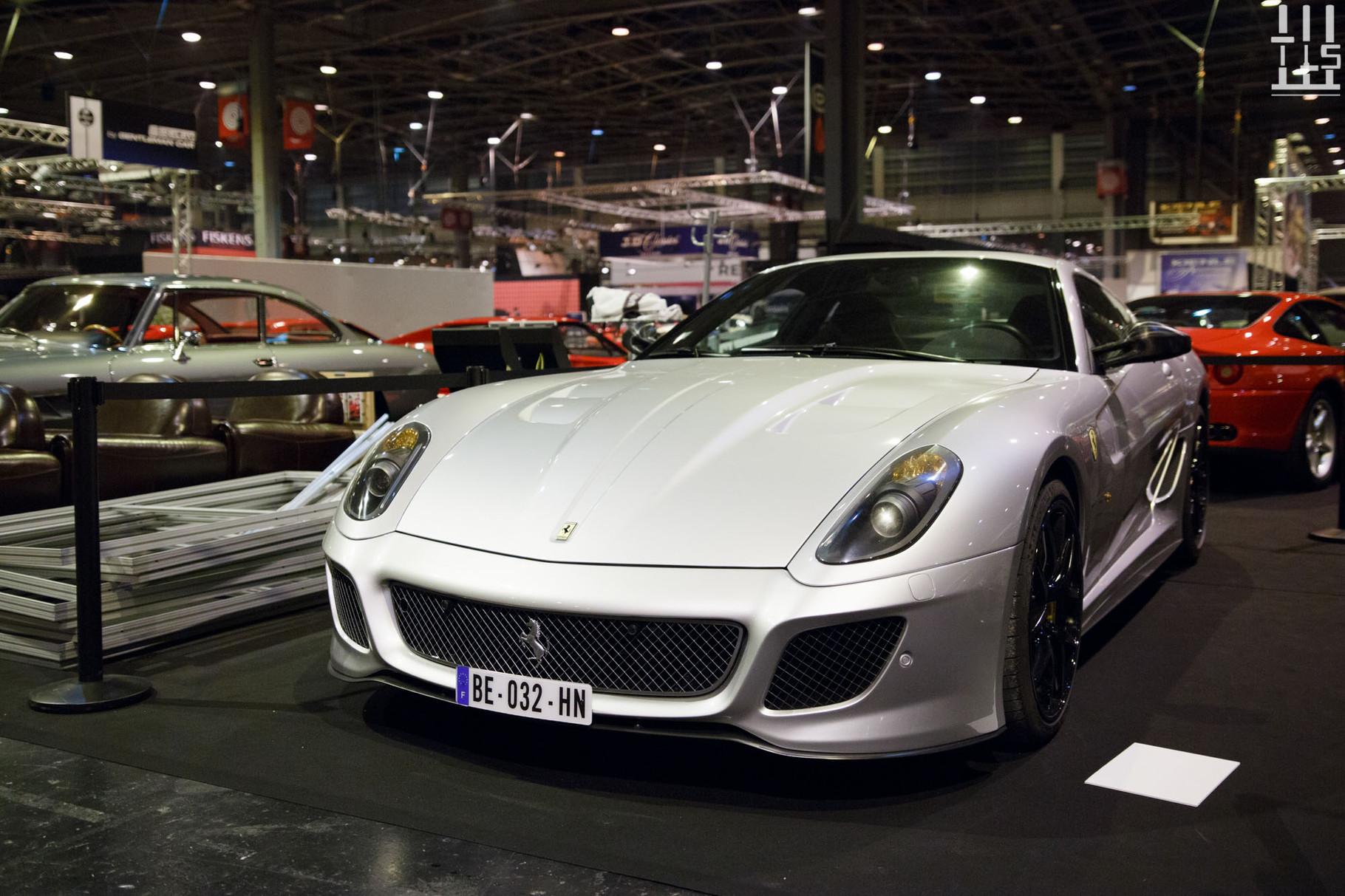 Une superbe Ferrari 599 GTO !
