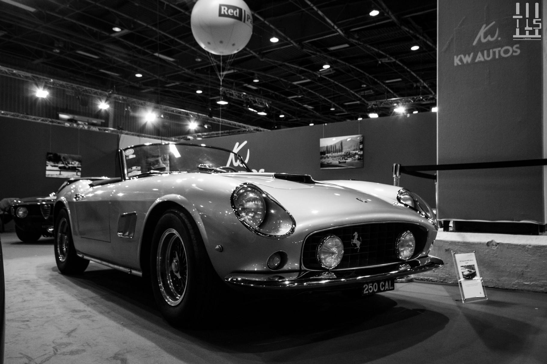 KW Autos, un nouveau venu à ma connaissance, propose à la vente cette Ferrari 250 GT California LWB, possédant par ailleurs la plaque d'immatriculation adéquate.