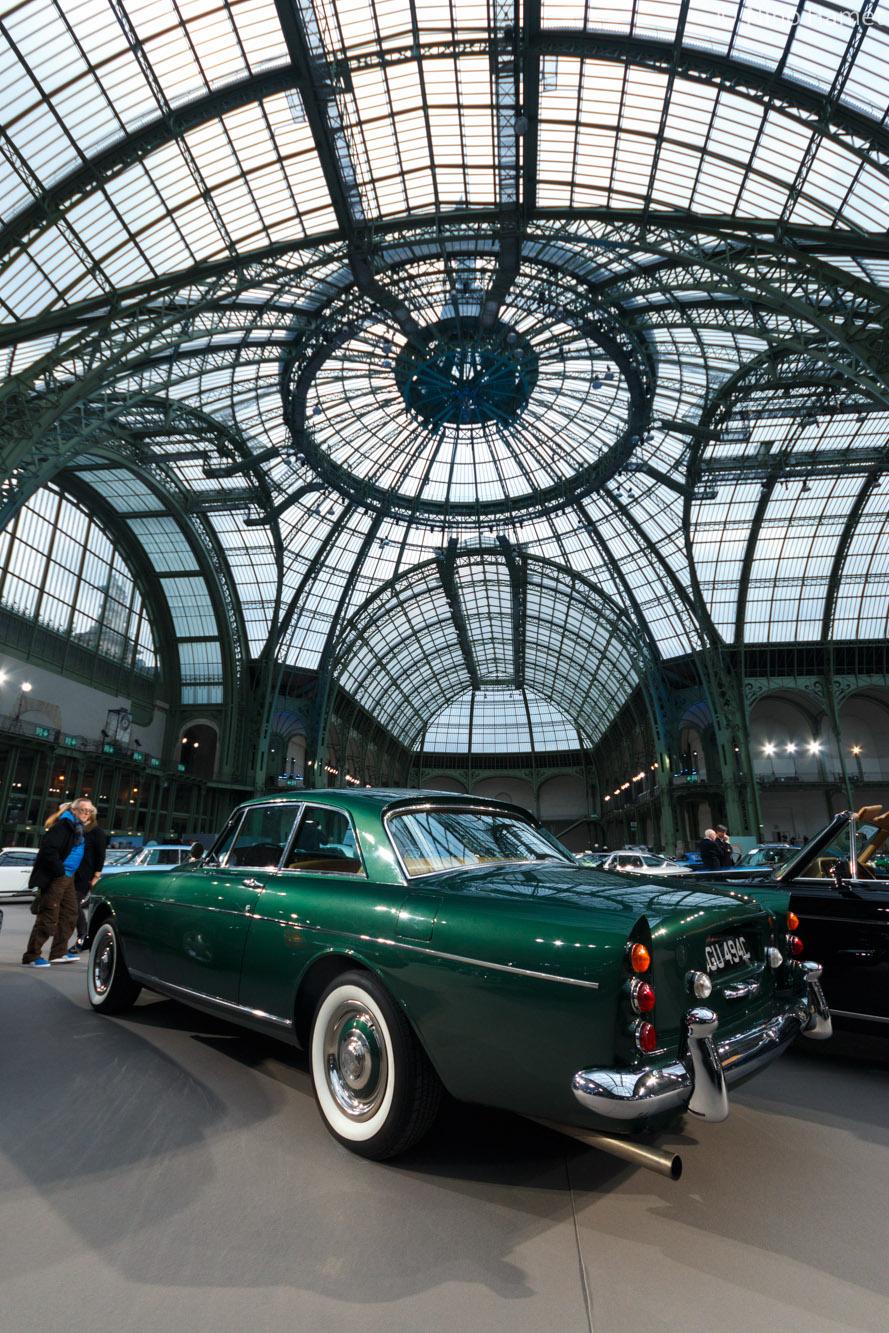 Bentley Continental S3 Coupe, dans son habitat naturel bien qu'invendue.