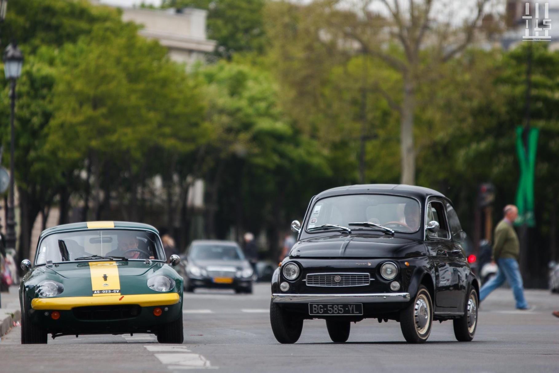 Fiat 600 & Lotus Elan.