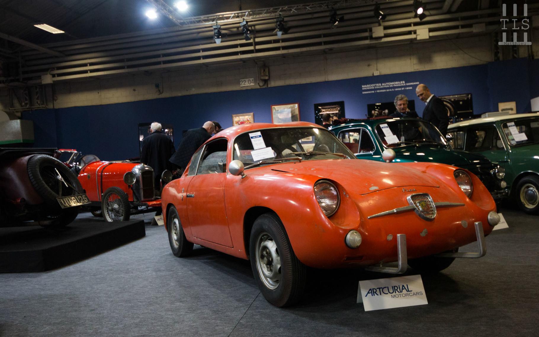 Fiat Abarth 750 GT Zagato.