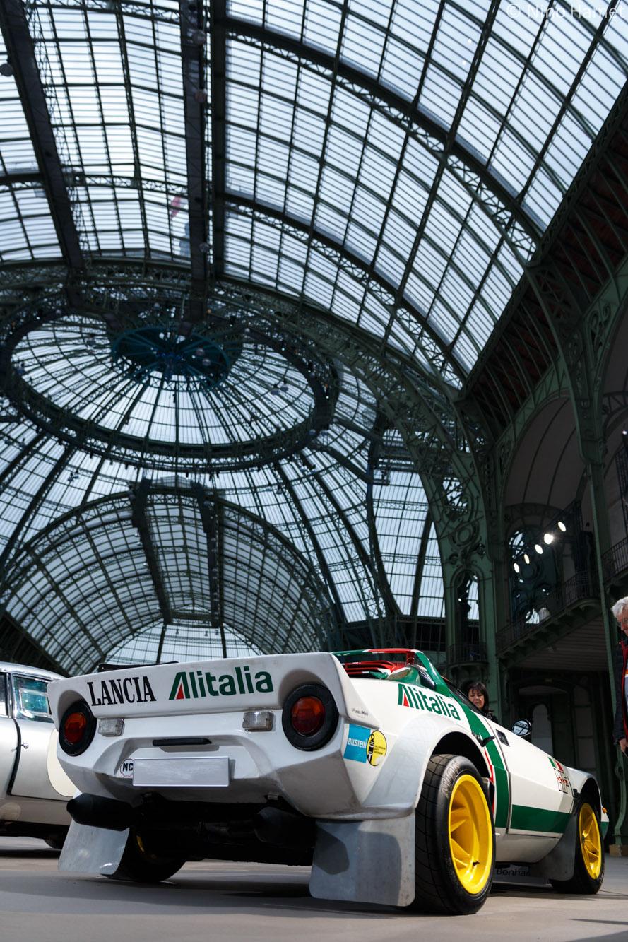 Voici la Lancia Stratos Groupe IV.