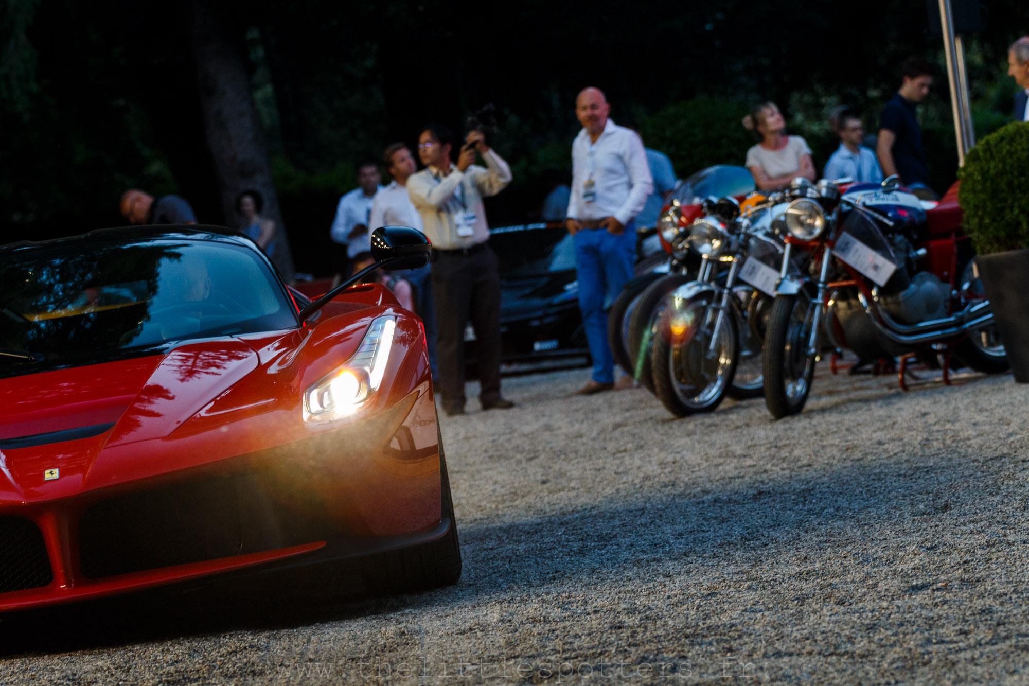 Ferrari LaFerrari, estimée entre 2 750 000 et 3 200 000 euros, invendue : ce n'est pas étonnant.
