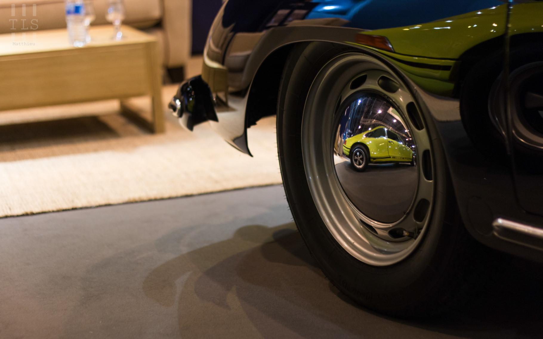 Quand une Porsche 911 S/T apparaît par surprise dans la jante d'une Porsche 356, ça donne ça !