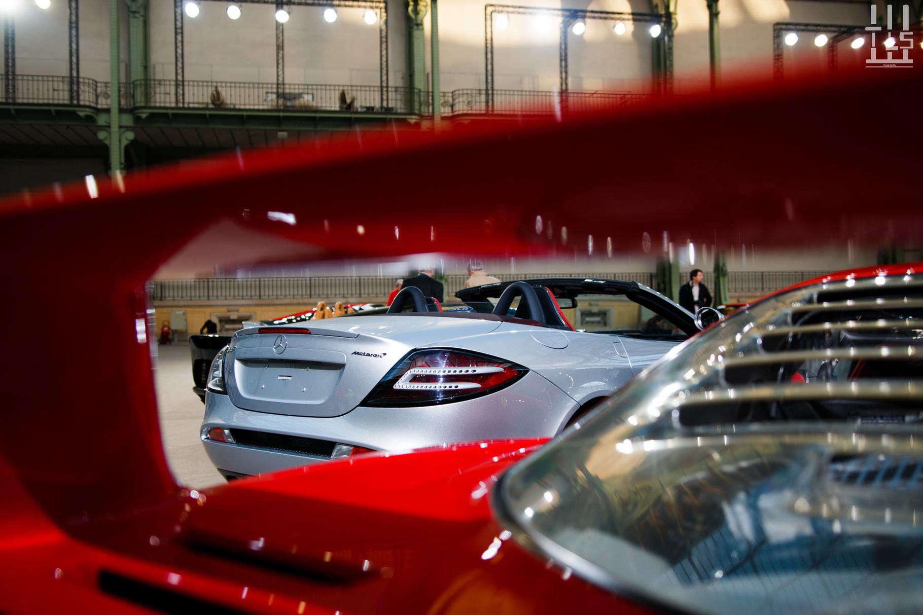 Mercedes-Benz SLR McLaren, vendue à 356 500 euros.