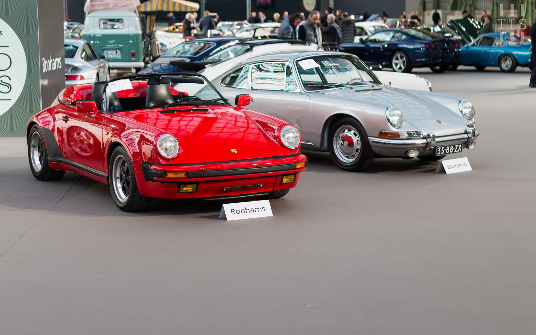Porsche 911 Speedster, vendue à 251 666 euros.
