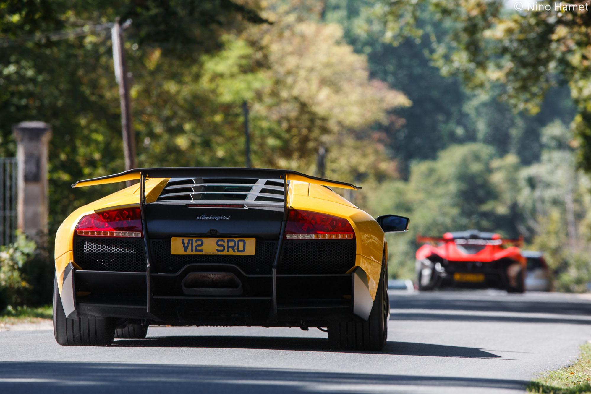 Lamborghini Murcielago SV & McLaren P1 GTR