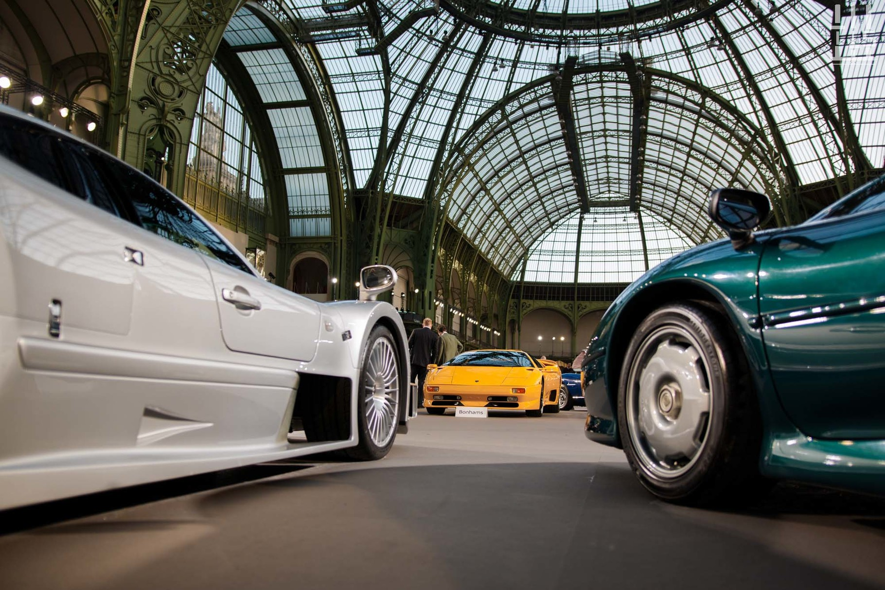 Mercedes-Benz CLK GTR Coupé, invendue.