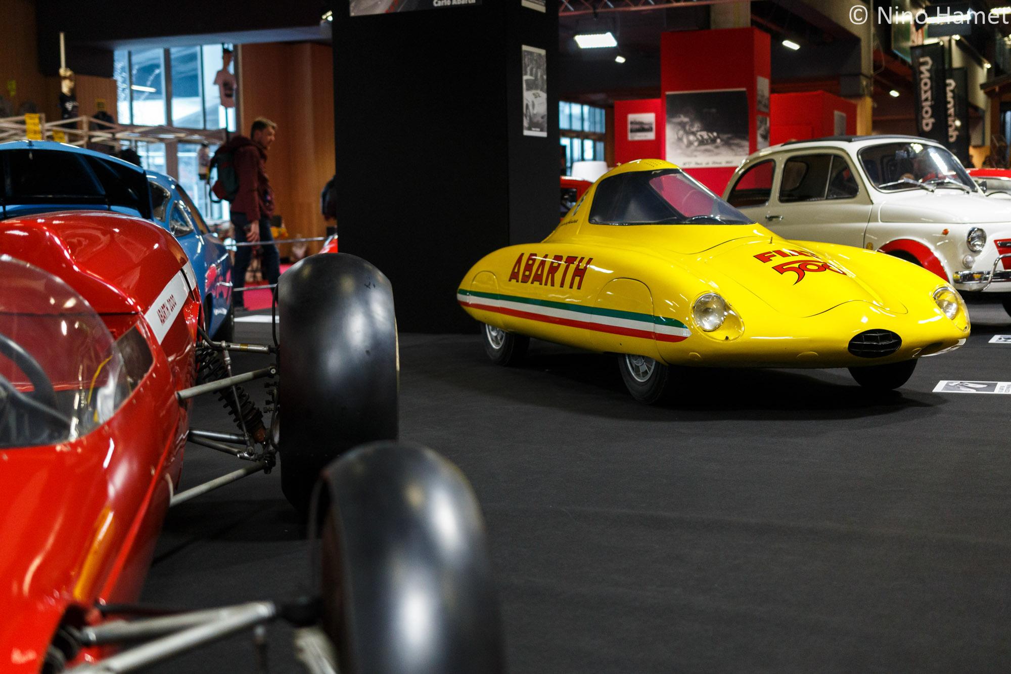 Fiat Abarth 500 Record Pininfarina