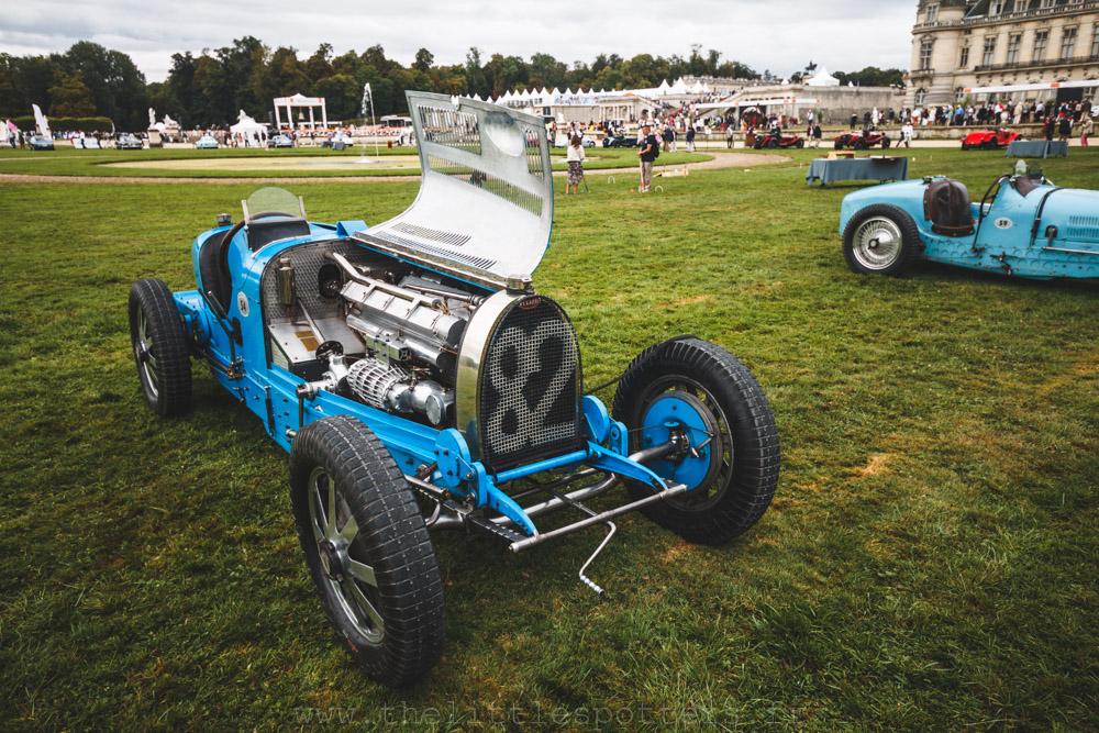 Bugatti, les voitures de Grand Prix, prix FIVA : Bugatti Type 35B 1928
