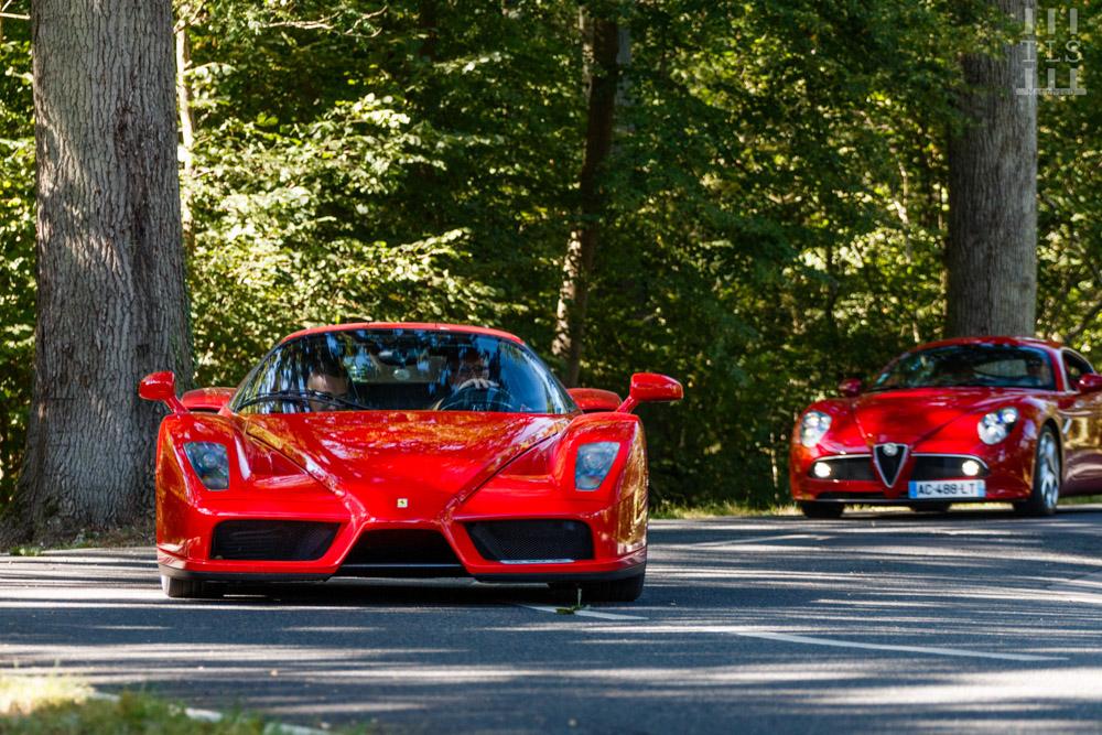 Ferrari Enzo & Alfa Romeo 8C Competizione