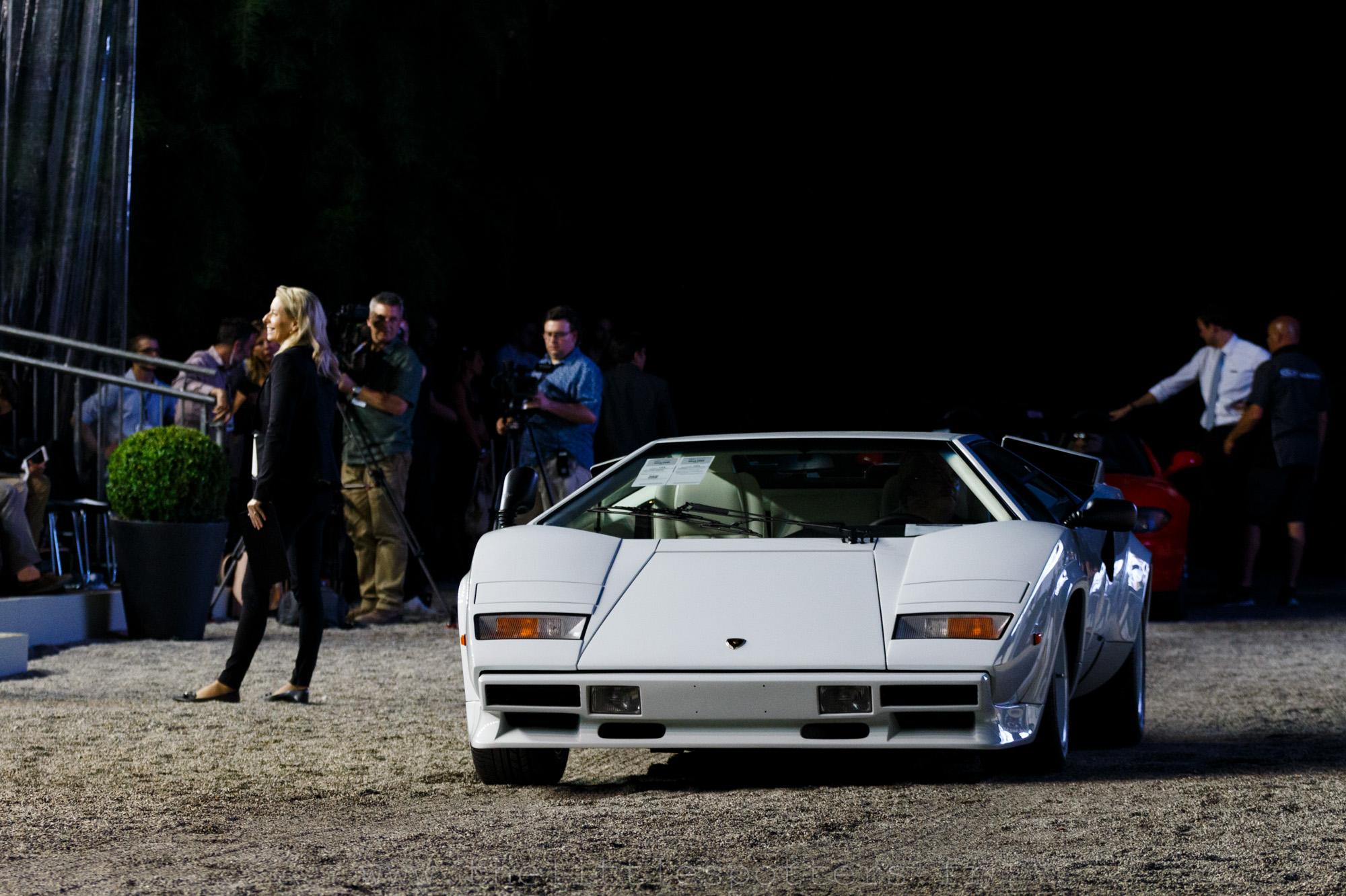 Lot 164 : Lamborghini Countach 5000 QV, invendue. Elle était estimée entre 475 000 et 575 000 euros.