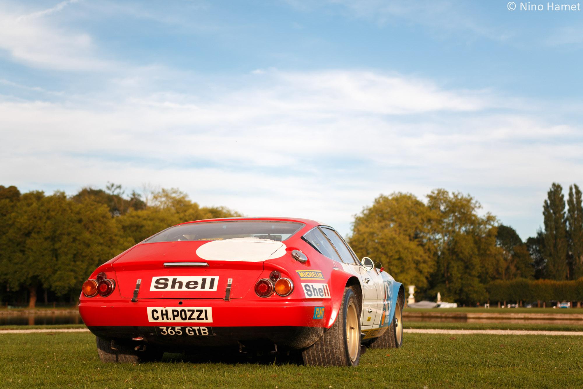 Hommage à l'écurie Pozzi, premier prix : Ferrari 365 GTB/4 Competizione SII 1972
