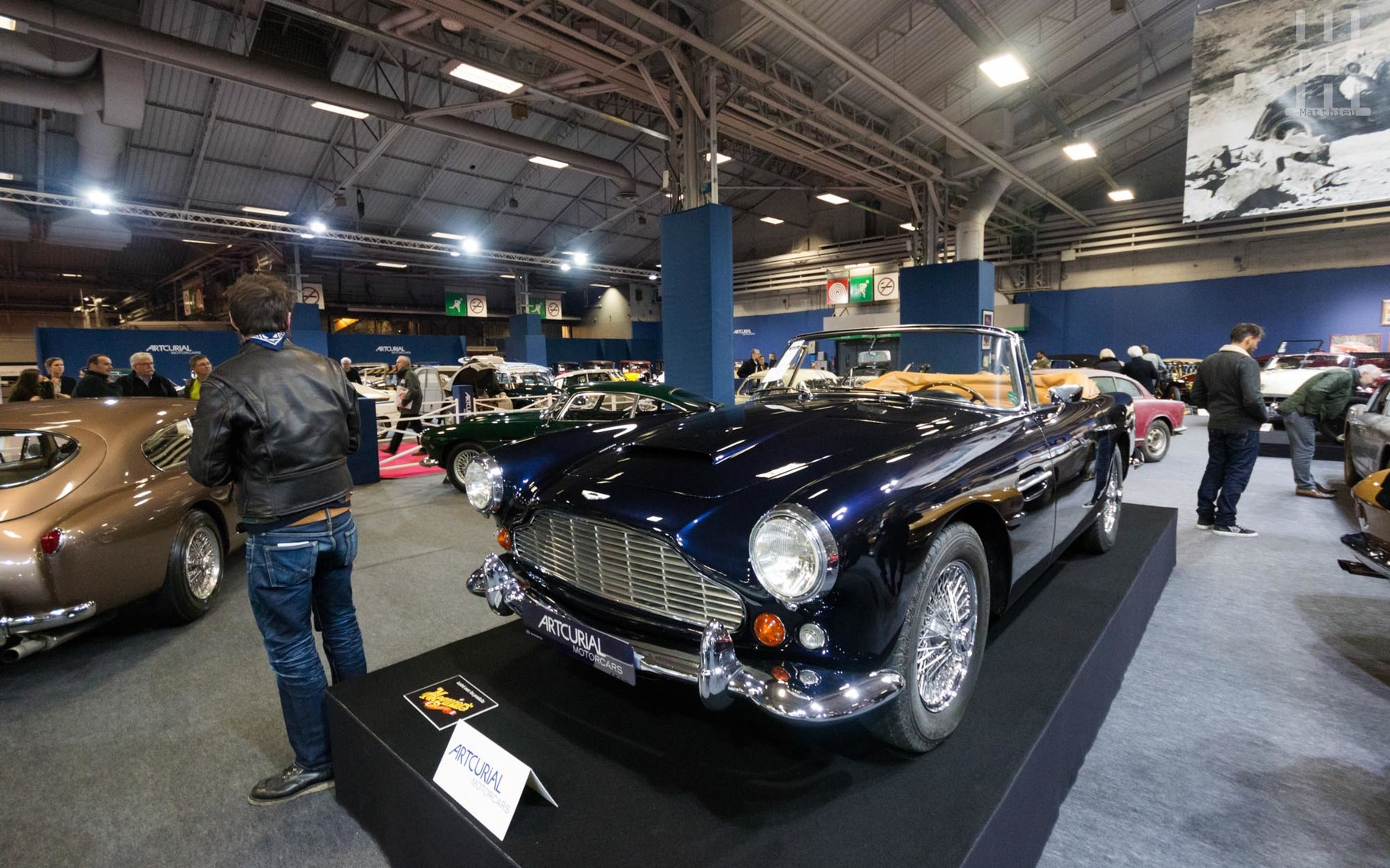 Aston Martin DB4 Convertible.