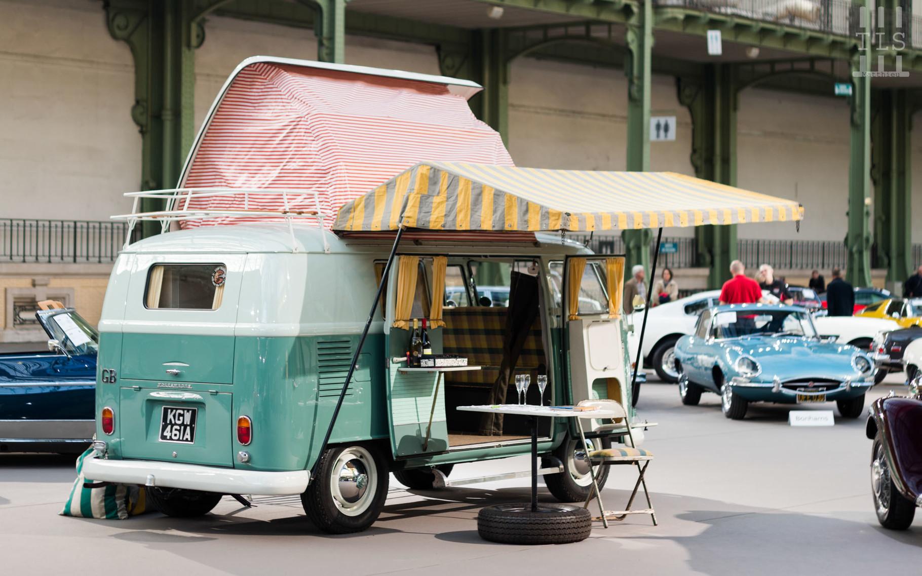 """Volkswagen Type 2 """"Flipseat"""", vendue à 92 000 euros."""