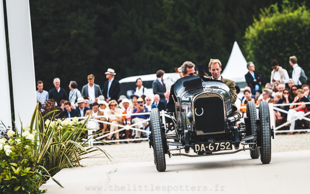 Les marques anglaises disparues (Avant-Guerre), premier prix : Sunbeam 3 Litres Straight Eight Grand Prix  1922 (M. Erez Yardeni)