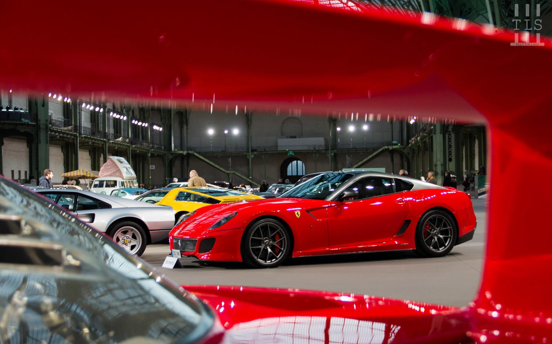 Ferrari 599 GTO, vendue à 425 500 euros.
