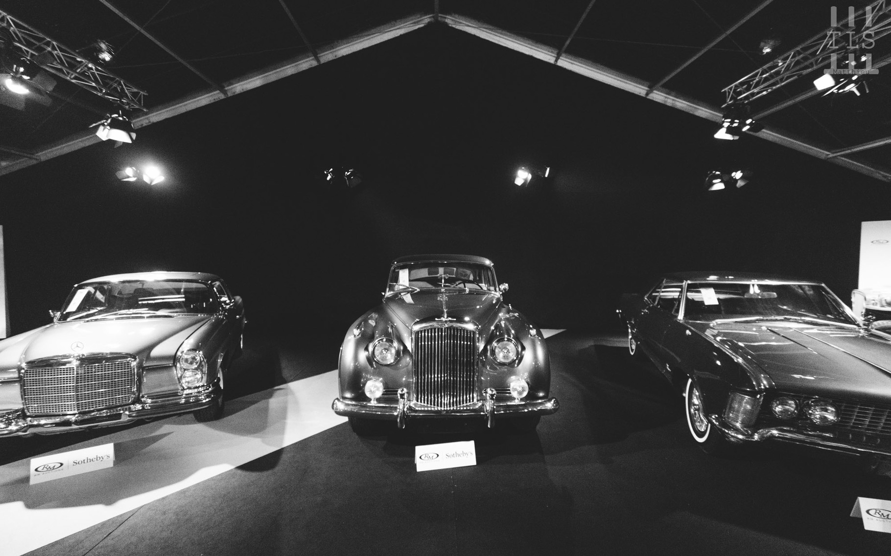 Bentley S1 Saloon, vendue à 58 800 euros.