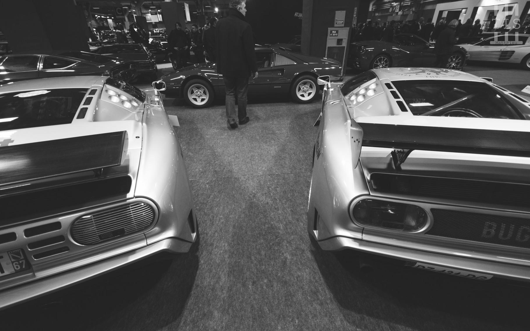 """Bugatti EB110 SS & EB110 SS """"Sport Competizione - Le Mans""""."""