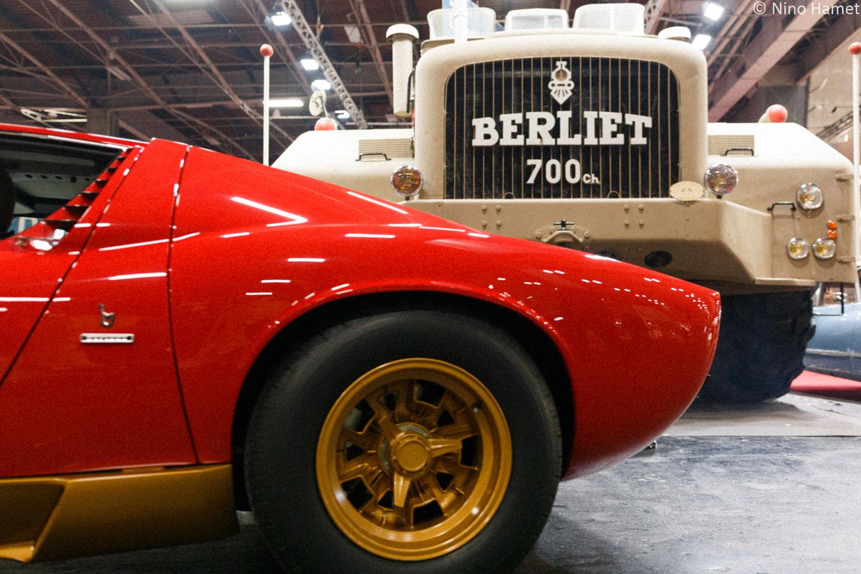 Lamborghini Miura SV & Berliet T100