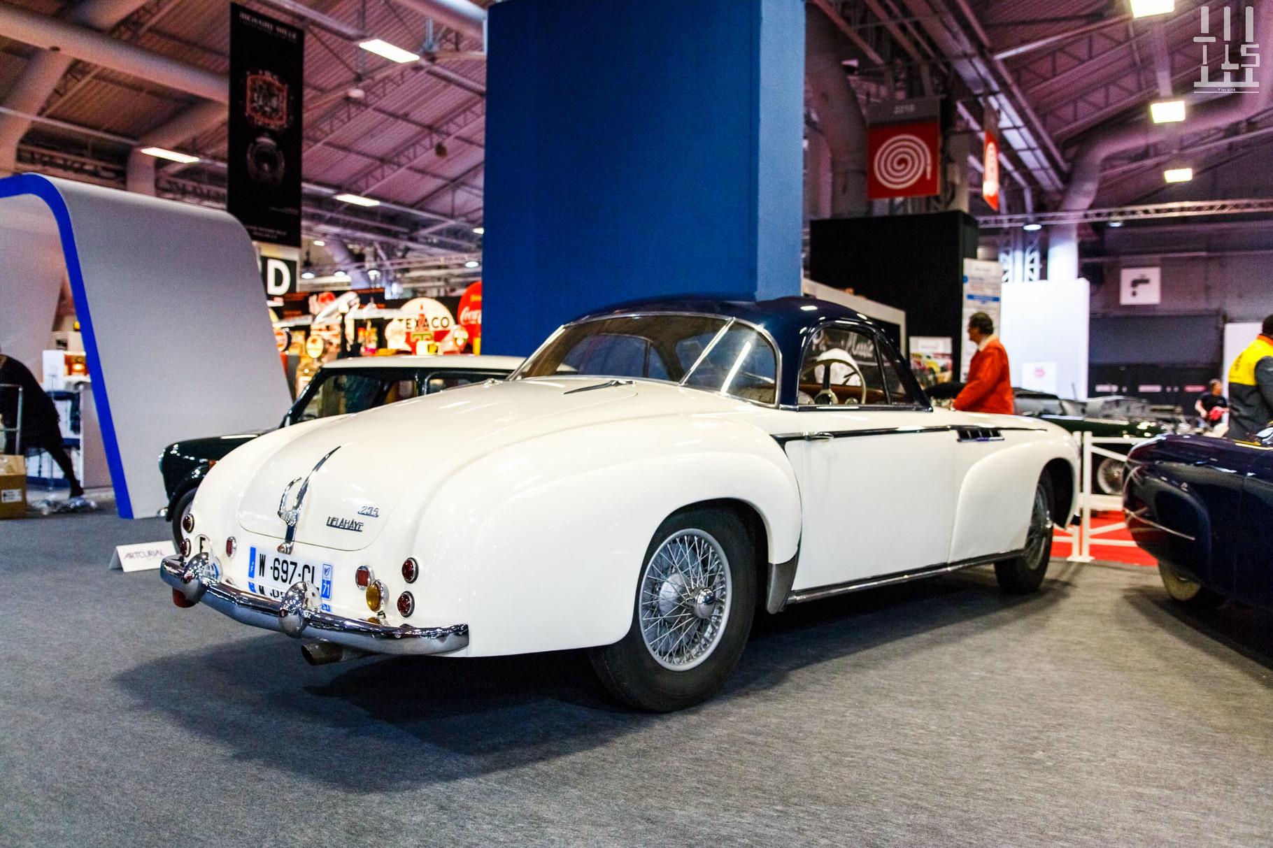 Delahaye 235 coupé Chapron.