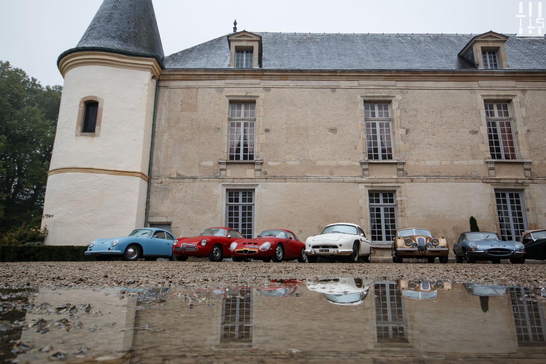 Vue d'ensemble - Journées d'Automne 2015, Château de Condé.