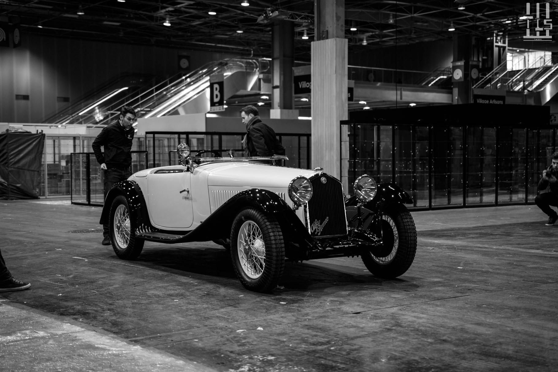 Alfa Romeo 6C 1750 Grand Sport carrosserie Figoni, présentée au salon de Paris 1933. Cette année, on la retrouve chez Fiskens.