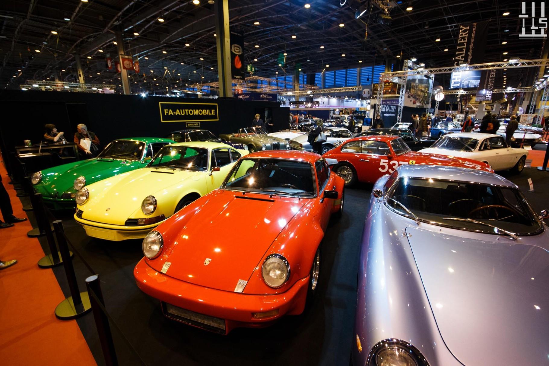 Le stand FA Automobiles, quel plateau !