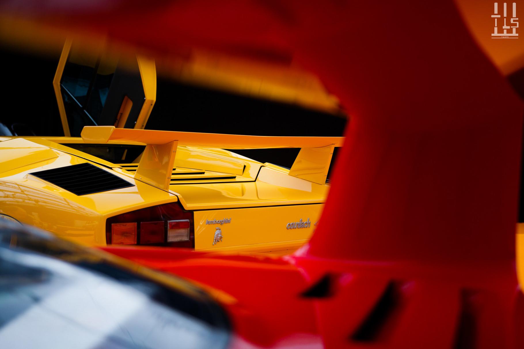 Lamborghini Countach LP400 S : estimée entre 380 000 et 450 000 €, invendue.