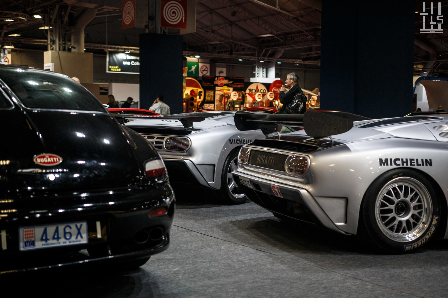 """Bugatti EB110 SS, EB110 SS """"Sport Competizione - Le Mans"""" & Bugatti EB112."""