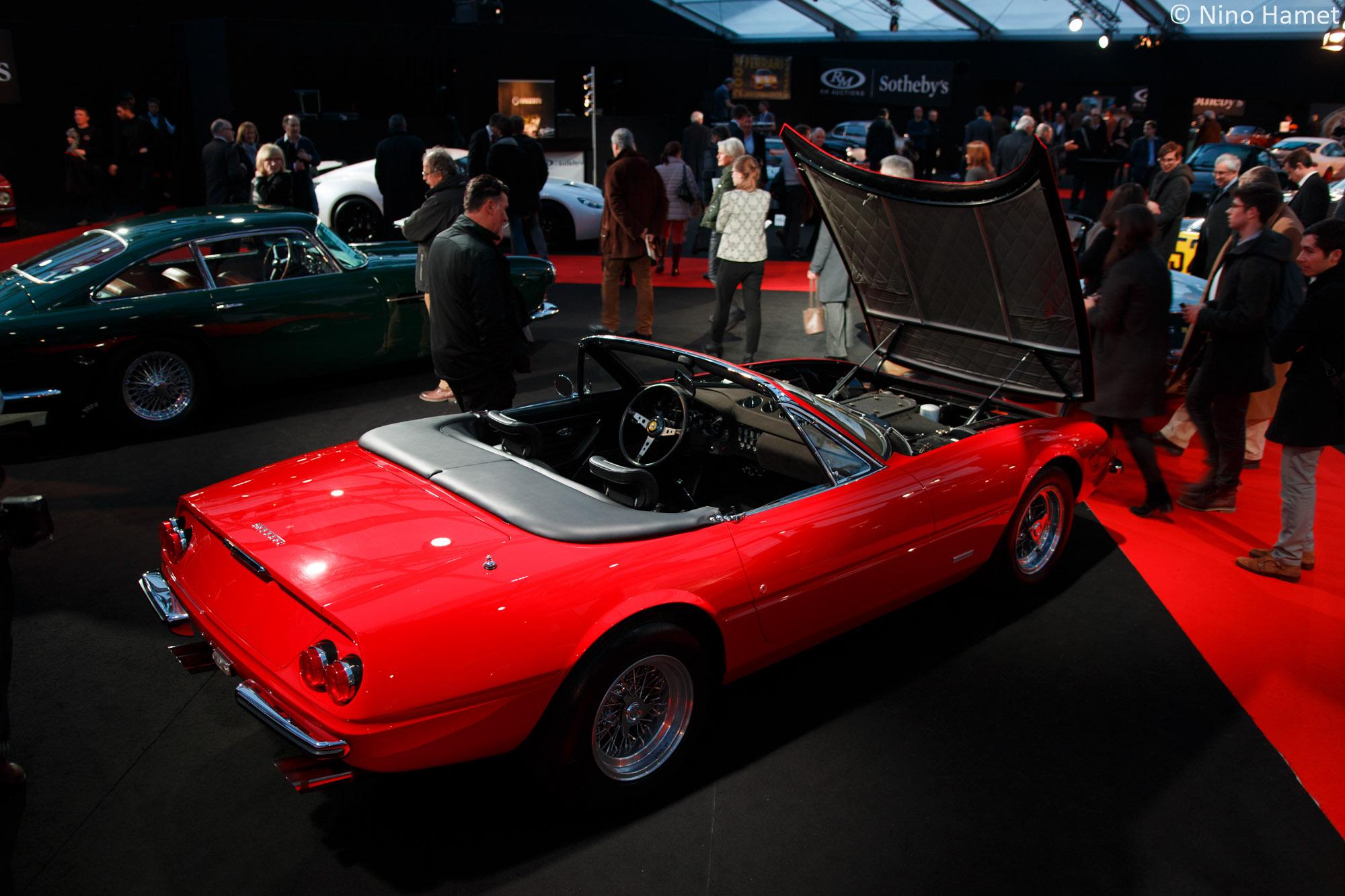 Ferrari 365 GTB/4 Daytona Spyder, 1 925 000 euros au marteau.