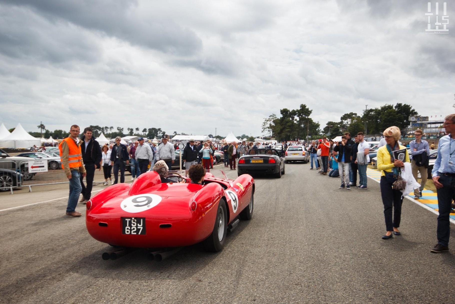 Ferrari 290 MM Spyder convertie en 250 Testa Rossa - 1957