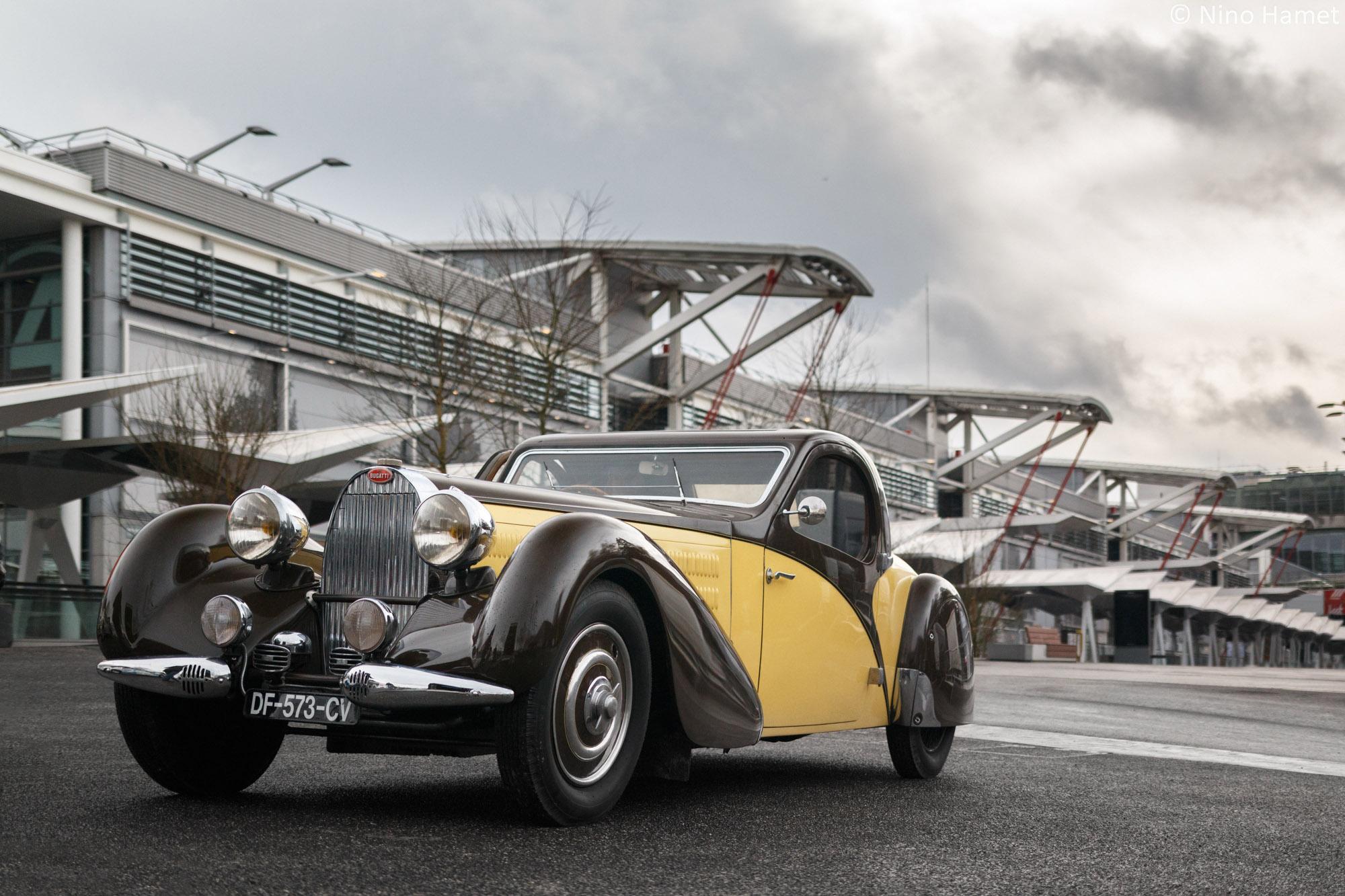 Cette Bugatti Type 57 Atalante, estimée 1 M € - 1.5 M €, sera adjugée 2 000 000 d'euros !