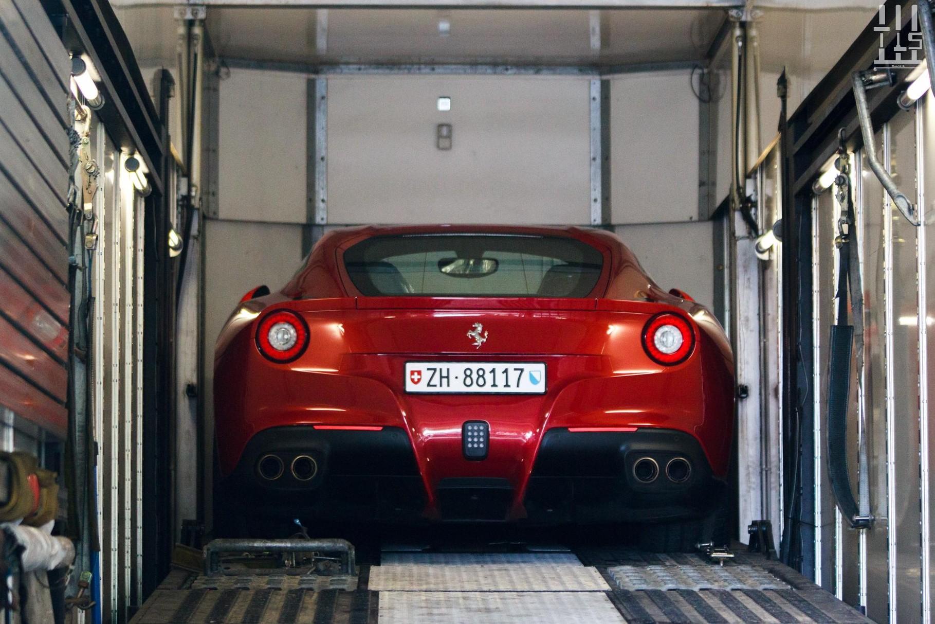 Ferrari F12 Berlinetta.
