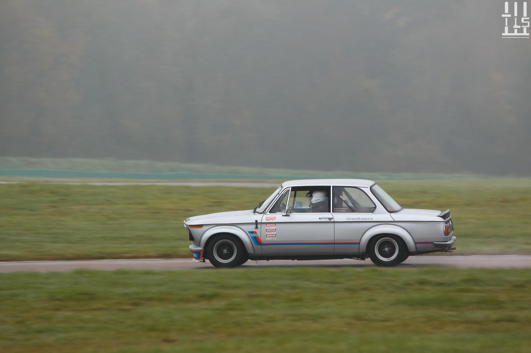 BMW 2002 Turbo - Journées d'Automne 2015, Circuit des Ecuyers.